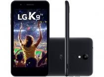 "Smartphone LG K9 TV 16GB Preto 4G Quad Core - 2GB RAM Tela 5"" Câm. 8MP + Câm. Selfie 5MP"