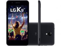 "Smartphone LG K9 TV 16GB Preto 4G Quad Core - 2GB RAM Tela 5"" HD Câm. 8MP Selfie 5MP Dual Chip"