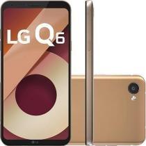 Smartphone LG Q6 32GB Dual Chip 4G Tela 5.5 Full Hd+ Octacore Câmera 13MP - Rose Gold -
