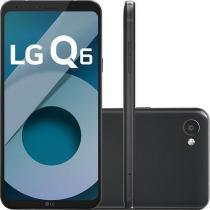 "Smartphone LG Q6 Dual Chip Android 7.0 Tela 5.5"" Full Hd+ Octacore 32GB 4G Câmera 13MP - Preto - Lg eletronics"