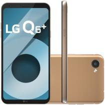 "Smartphone LG Q6 Plus 64GB Rose Gold Dual Chip 4G - Câm. 13MP + Selfie 5MP Tela 5,5"" Proc.Octa Core"