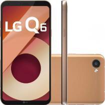 """Smartphone lg q6 rose gold lgm700tv, tela de 5.5"""", 32gb, 13mp - Lg"""