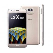 Smartphone LG X Cam Dourado - LG