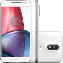 Smartphone Moto G 4 Plus, Dual Chip, Android 6.0, Tela 5.5, 32GB, Câmera 16MP, Branco - Motorola