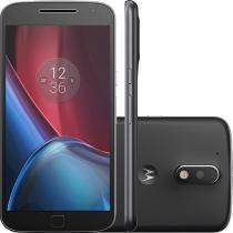 Smartphone Moto G 4 Plus, Dual Chip, Android 6.0, Tela 5.5, 32GB, Câmera 16MP, Preto - Motorola