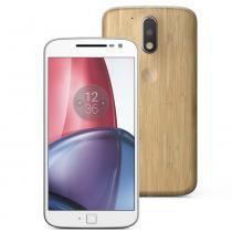 Smartphone Moto G 4 Plus XT1640 32GB, 4G Dual Chip, Android, Câm 16MP, Tela 5.5, Wi-Fi Bambu - Motorola
