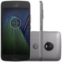 "Smartphone Moto G5 Plus 32GB Platinum Dual Chip - Câm. 12MP + Selfie 5MP Tela 5.2"" Octa Core Desbl."