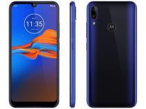 """Smartphone Motorola E6 Plus 64GB Azul 4G 4GB RAM - Tela 6,1"""" Câm. Dupla + Câm. Selfie 8MP Dual Chip"""