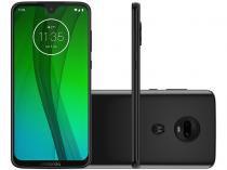 "Smartphone Motorola G7 64GB Ônix 4G - 4GB RAM Tela 6,24"" Câm. Dupla + Câm. Selfie 8MP"