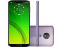 "Smartphone Motorola G7 Power 64GB Lilac 4G - 4GB RAM Tela 6,2"" Câm. 12MP + Câm. Selfie 8MP"