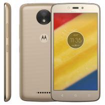 Smartphone Motorola Moto C Plus, 16GB, 5, Android 7.0, 4G, 8MP - Dourado -