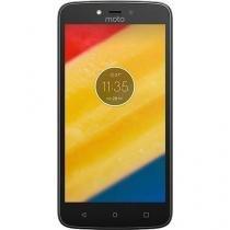 "Smartphone Motorola Moto C Plus Dual Chip Tela 5"" Quad-Core 16GB 4G Wi-Fi Câmera 8MP - Preto -"
