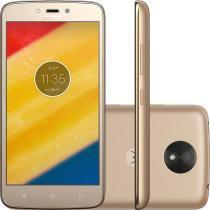 Smartphone Motorola Moto C Plus XT1726 Ouro - Motorola