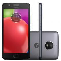 Smartphone Motorola Moto E4 16GB Preto com Capa Titanium - Motorola