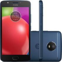 Smartphone Motorola Moto E4 4G Tela 5 Polegadas Android 7.1 Câmera 8MP Dual Chip - Azul -