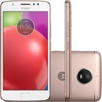 Smartphone Motorola Moto E4 4G Tela 5 Polegadas Android 7.1 Câmera 8MP Dual Chip - Ouro -