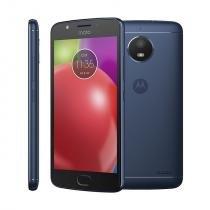 Smartphone motorola moto e4, 5, 16gb, android 7, 4g, quad core, câmera 8 mp, azul - desbloqueado - Motorola