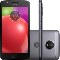 "Smartphone Motorola Moto E4 Dual 5"" 16GB 8MP 5MP - Titanium -"