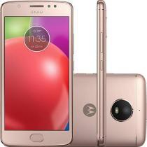 Smartphone Motorola Moto E4 Dual Chip Android 7.1.1 Nougat Tela 5 Quad-Core 1.3GHz 16GB 4G Câmera 8MP - Dourado -