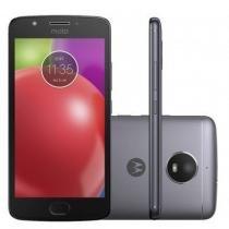 Smartphone Motorola Moto E4 XT1763 com 16GB, Tela 5, Dual Chip, Android 7.1, 4G, Câmera 8MP, Processador Quad-Core e 2GB de RAM - Azul escuro -