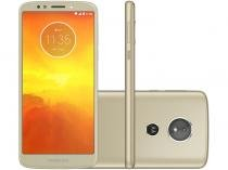 "Smartphone Motorola Moto E5 16GB Ouro 4G Quad Core - 2GB Tela 5.7"" Câm 13MP + Selfie 5MP Dual Chip"
