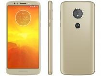 "Smartphone Motorola Moto E5 32GB Ouro 4G - Quad Core 2GB RAM Tela 5,7"" Câm. 13MP + Selfie 5MP"