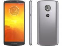 "Smartphone Motorola Moto E5 32GB Platinum 4G - Quad Core 2GB RAM Tela 5,7"" Câm. 13MP + Selfie 5MP"