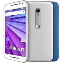 Smartphone Motorola Moto G 3ª Geração Colors 16GB - Branco Dual Chip 4G Câm. 13MP Desbl. Claro