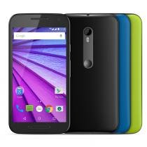 """Smartphone Motorola Moto G 3ª Geração Colors Preto, Android 5.1, Tela 5"""", 16GB, Cam 13MP, 4G - HDTV - Motorola"""