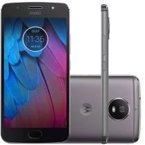 Smartphone Motorola Moto G 5S 32Gb Dual Chip 4G 5.2 Câmera 16Mp e Frontal 5Mp Android 7.1 Platinum -
