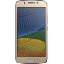 "Smartphone Motorola Moto G 5s Dual Chip Android 7.1.1 Nougat Tela 5.2"" Snapdragon 430 32GB 4G Câmera 16MP - Dourado -"