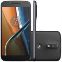 Smartphone Motorola Moto G4 XT1626 Preto Dual Chip 16GB Android Marshmallow 4G Wi-Fi -