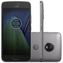 Smartphone Motorola Moto G5 Plus 32GB Platinum - Dual Chip 4G Câm. 12MP + Selfie 5MP Tela 5.2""