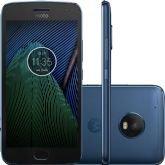 """Smartphone Motorola Moto G5 Plus, Azul Safira, Tela de 5.2"""", 32GB,12MP - Motorola"""