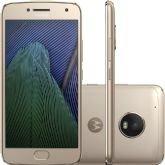 "Smartphone Motorola Moto G5 PLUS, Ouro, XT1683, Tela de 5.2"", 32GB, 12MP -"