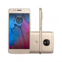 "Smartphone Motorola Moto G5s 32GB 5,2"" Dual 4G 16MP Ouro -"