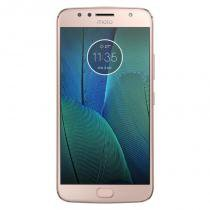 "Smartphone Motorola Moto G5s Plus Ouro Rose 5.5"" 4G Android 7.1 Octa-Core 2.0GHz -"