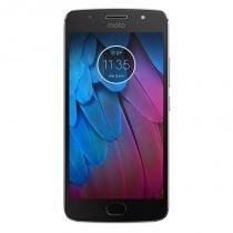 """Smartphone Motorola Moto G5s Plus Platinum 5.5"""" 4G Android 7.1 Octa-Core 2.0GHz -"""