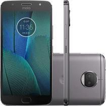 Smartphone Motorola Moto G5S Plus XT1802 32GB Dual Chip, Tela 5.5, 4G/Wi-Fi, Dual 13MP e GPS - Cinza -