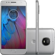 "Smartphone Motorola Moto G5S Tela 5,2"" ,32GB Octa-Core,16MP e 5MP Android 7.1.1 Nougat Silver XT1792 -"