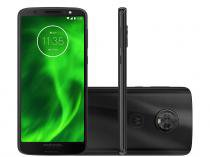 Smartphone Motorola Moto G6 64GB Preto - Dual Chip 4G Câm. 12MP e 5MP + Selfie 8MP Flash