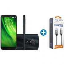 Smartphone Motorola Moto G6 Play 32GB Indigo - Dual Chip 4G Câm 13MP + Cabo Carregador