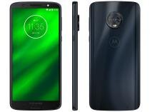 Smartphone Motorola Moto G6 Plus 64GB Indigo - Dual Chip 4G Câm. Duo 12MP + 5MP + Selfie 8MP