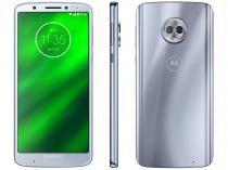 Smartphone Motorola Moto G6 Plus 64GB Topázio - Dual Chip 4G Câm. 12MP e 5MP + Selfie 8MP Flash