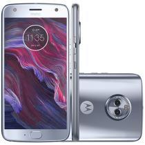 "Smartphone Motorola Moto X4 32GB Azul Topázio - 4G Dual Câm. 12 MP + 8 MP + Selfie 16MP Tela 5,2"""