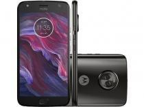 "Smartphone Motorola Moto X4 32GB Preto Dual Chip   - 4G Dual Câm. 12 MP + 8 MP + Selfie 16MP Tela 5,2"""