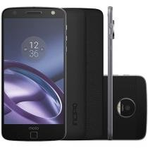Smartphone Motorola Moto Z Power Edition 64GB - Preto e Grafite Dual Chip 4G Câm 13MP + Selfie 5MP
