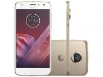 Smartphone Motorola Moto Z2 Play 64GB Ouro - Dual Chip 4G Câm. 12MP + Selfie 5MP Tela 5.5""