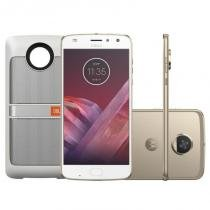 Smartphone Motorola Moto Z2 Play Ouro Sound Edition 64GB -