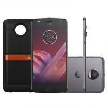 Smartphone Motorola Moto Z2 Play Platinum Sound Edition 64GB -